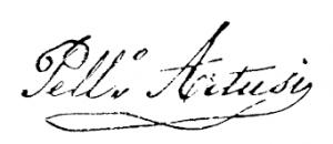 artusi-handtekening